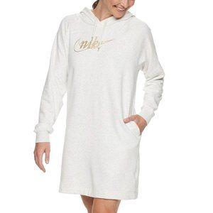 NWT Nike Hooded Fleece Dress